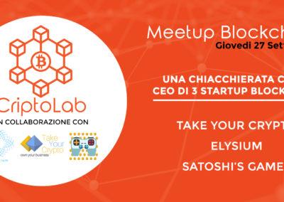 Chiacchierata con 3 Startup Blockchain